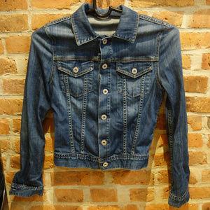 Vintage The Robyn Blue Jean Jacket - Soft Denim